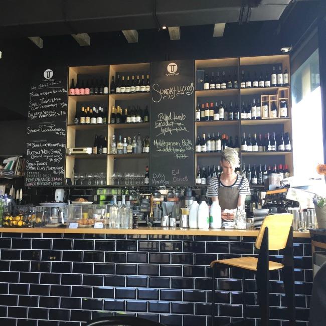 Christchurch Eating: Town Tonic | I Spy Plum Pie