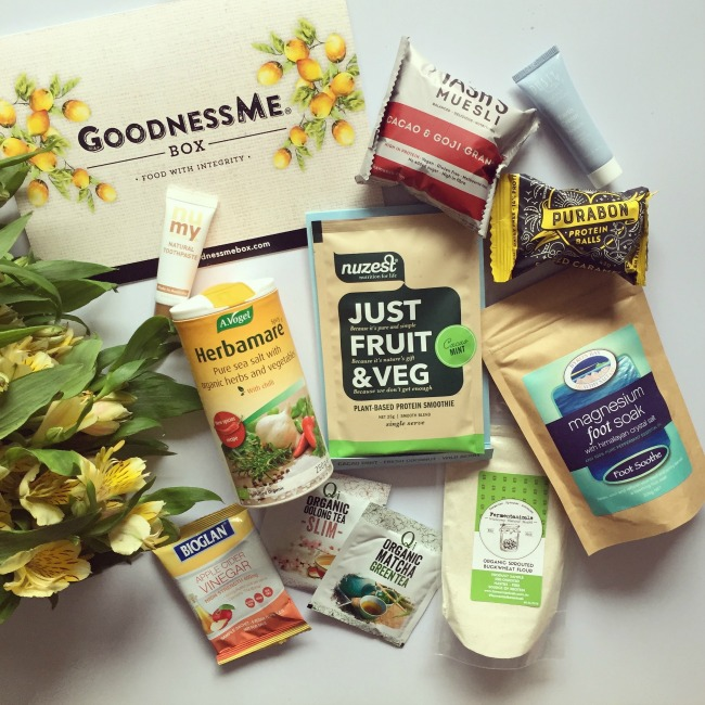 October GoodnessMe Box Review | I Spy Plum Pie