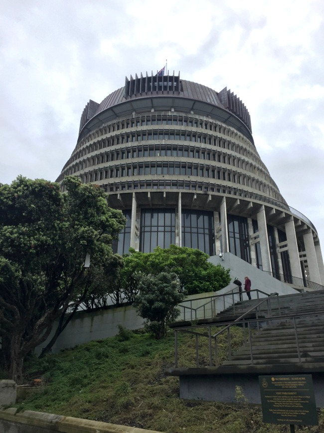 Wellington Exploring: Parliament, Cable Car and Sightseeing | I Spy Plum Pie