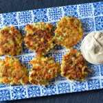 Recipe: Cauliflower Carrot Fritters