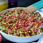Recipe: Freekeh and Buckwheat Pomegranate Salad