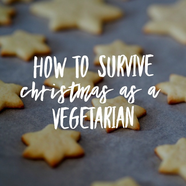 How To Survive Christmas As A Vegetarian | I Spy Plum Pie
