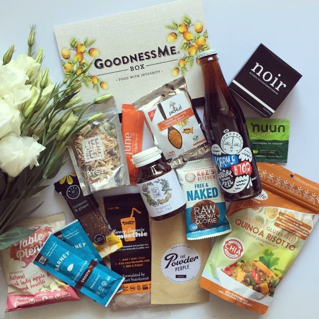 December GoodnessMe Box Review | I Spy Plum Pie