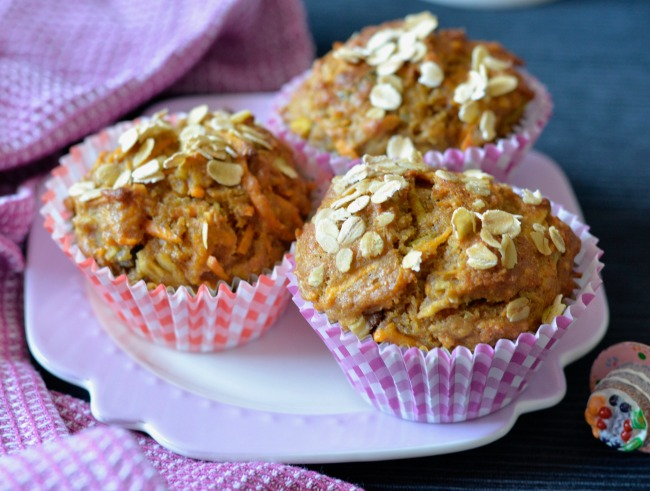 Sweet potato apple muffins | I Spy Plum Pie