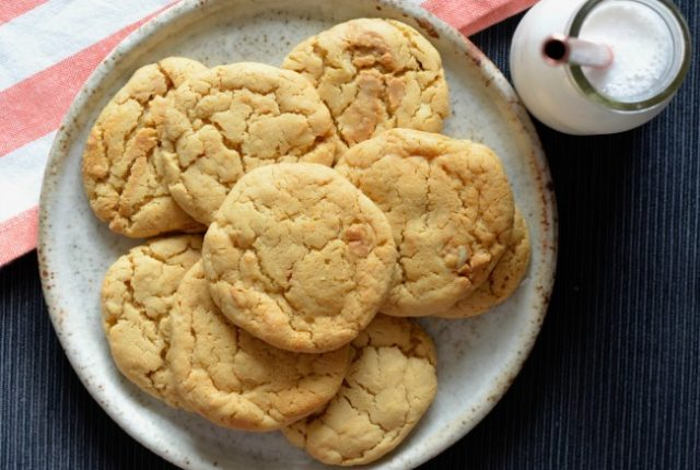 Peanut Butter Cookies | I Spy Plum Pie
