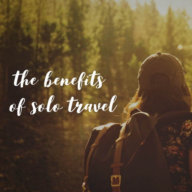 The Benefits of Solo Travel | I Spy Plum Pie