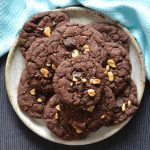 Recipe: Dark Chocolate Peanut Cookies
