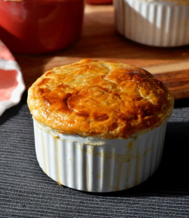 Mushroom Pot Pies | I Spy Plum Pie