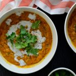 Recipe: Lentil Tomato Coconut Soup