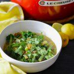 Recipe: Turmeric Green Lentil Soup