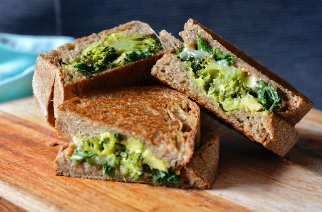 Broccoli Kale Toasties | I Spy Plum Pie