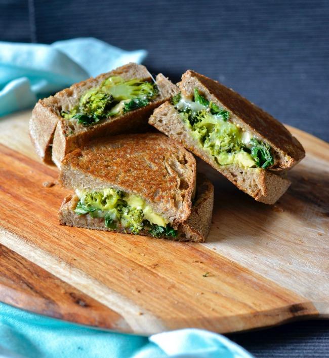 Broccoli Kale Toasties | I Spy Plum Pie