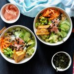 Recipe: Maple Soy Tofu Sushi Bowl