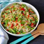 Recipe: Edamame Asparagus Noodles