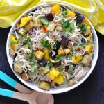Recipe: Eggplant Mango Soba Salad
