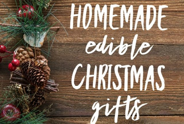 Homemade Edible Christmas Gifts | I Spy Plum Pie