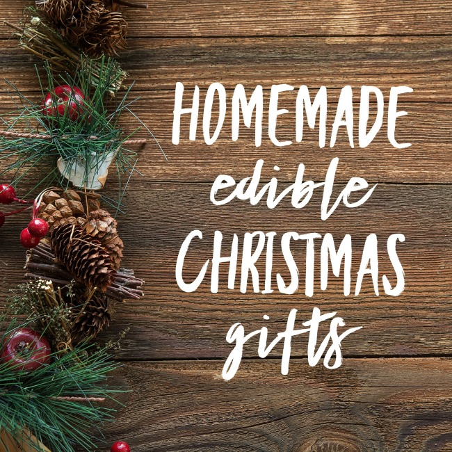 Homemade Edible Christmas Gifts | I Spy Plum Pie