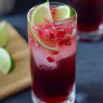Recipe: Pomegranate Lime Cocktail