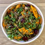 Recipe: BBQ Pumpkin and Beetroot Salad