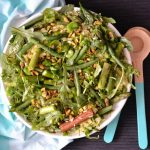 Recipe: Asparagus Bean Rice Salad