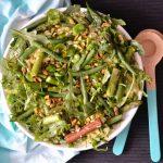 Recipe: Asparagus Bean Rice Salad