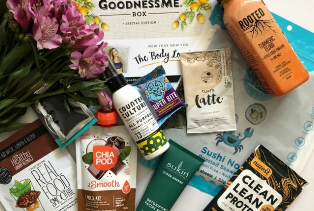 January GoodnessMe Box 2019 Review | I Spy Plum Pie