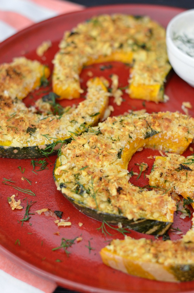 Crusted Pumpkin Wedges | I Spy Plum Pie
