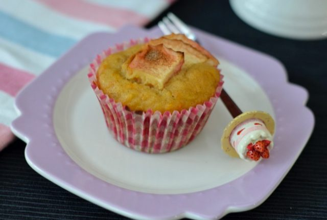Carrot Apple Muffins | I Spy Plum Pie