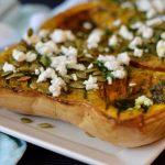 Recipe: Herby Roast Pumpkin