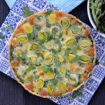 Recipe: Pea Leek Tart