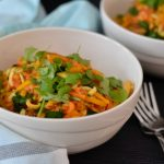 Recipe: Pumpkin Red Lentil Pasta