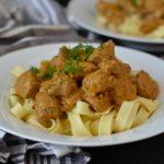 Recipe: Vegan Beef Stroganoff