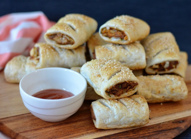 Tempeh Sausage Rolls | I Spy Plum Pie