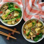 Recipe: Tofu Mushroom Stir Fry