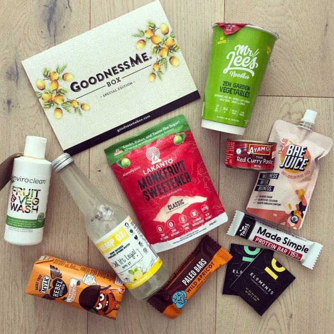 September GoodnessMe Box 2019 Review | I Spy Plum Pie