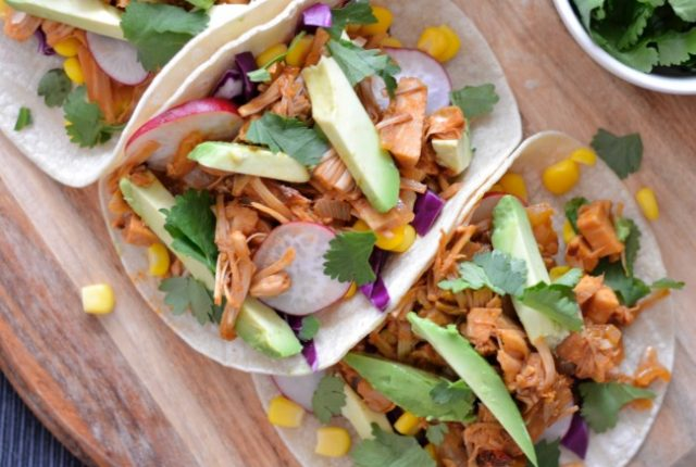 Jackfruit Tacos | I Spy Plum Pie