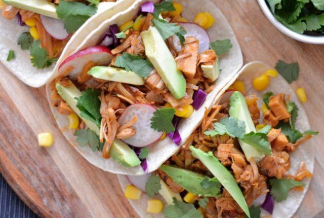 Jackfruit Tacos | I Spy Plum Pie