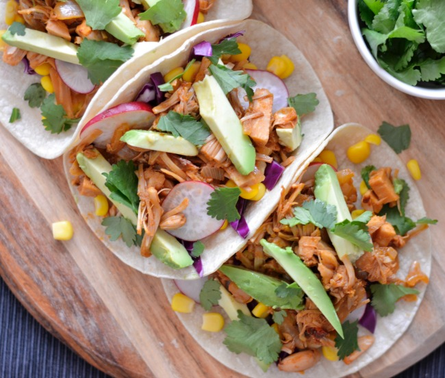 Jackfruit Tacos   I Spy Plum Pie