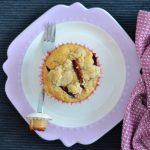 Recipe: Plum Crumble Muffins & My 7th Blogiversary!