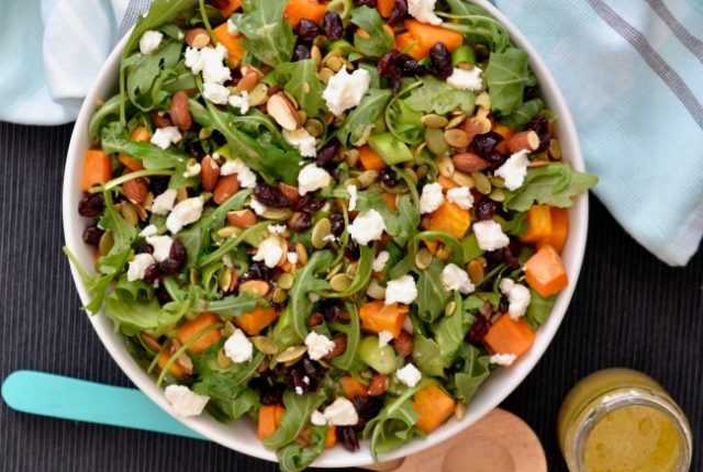 Sweet Potato Rocket Rice Salad | I Spy Plum Pie
