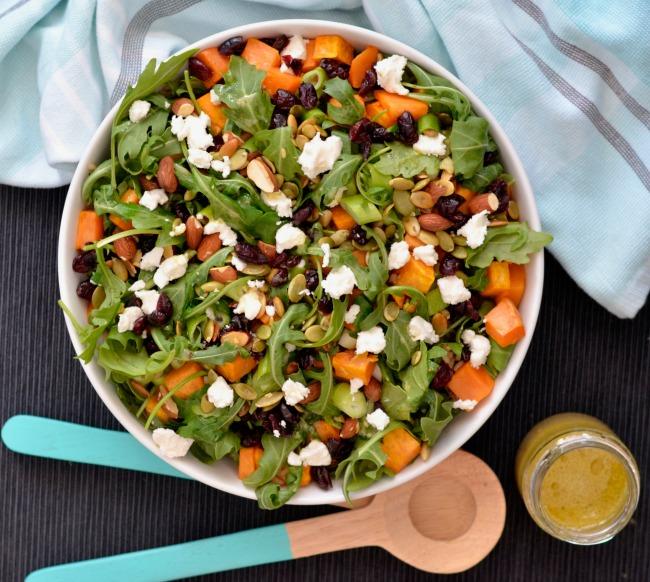 Sweet Potato Rocket Rice Salad | I Spy Plum Pie