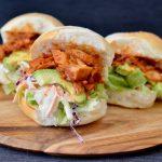 Recipe: Pulled BBQ Jackfruit Burgers