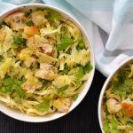 Recipe: Zucchini Pea Pasta