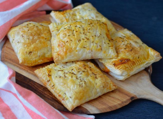 Curried Vegetable Hand Pies | I Spy Plum Pie