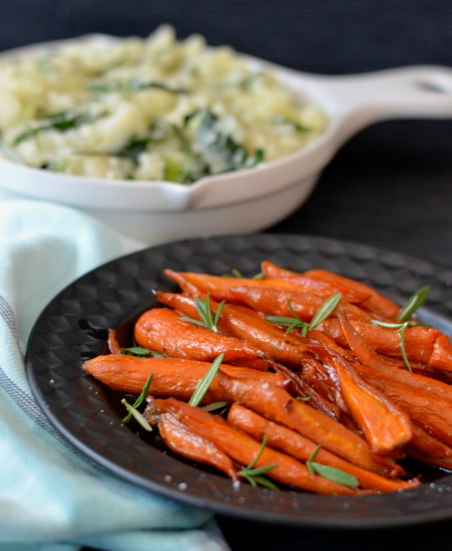 Maple Roasted Carrots | I Spy Plum Pie