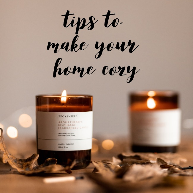 Tips to Make Your Home Cozy | I Spy Plum Pie