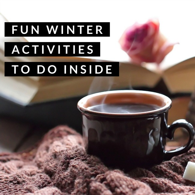 Fun Winter Activities to do Inside | I Spy Plum Pie