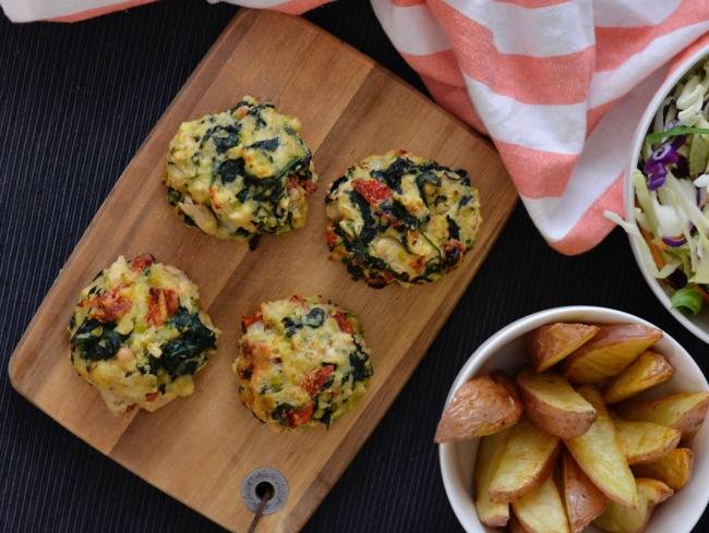 Bean and Spinach Burgers | I Spy Plum Pie