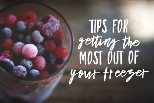 Tips For Getting The Most out of Your Freezer | I Spy Plum Pie