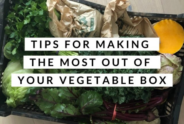 Tips for Making The Most Out Of Your Vegetable Box | I Spy Plum Pie